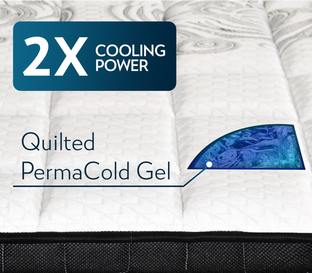 Maxim Mattress PermaCold Gel Quilted Mattress Material Extra Cool
